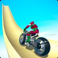 坡道摩托车竞速