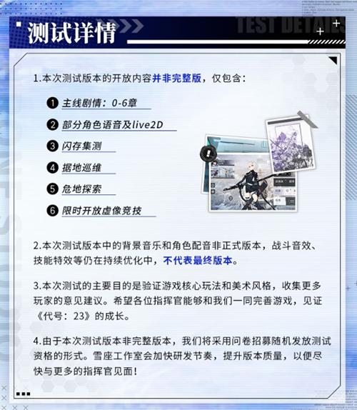 《代号:23》5月20日限量删档测试
