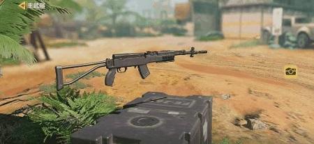 《使命召唤手游》半自动开火步枪步枪sks性能介绍