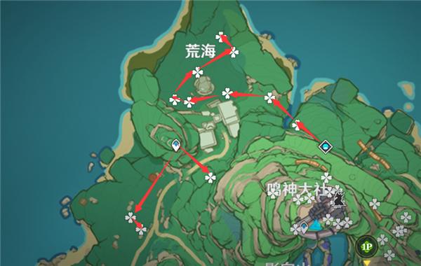 原神2.0绯樱绣球收集攻略