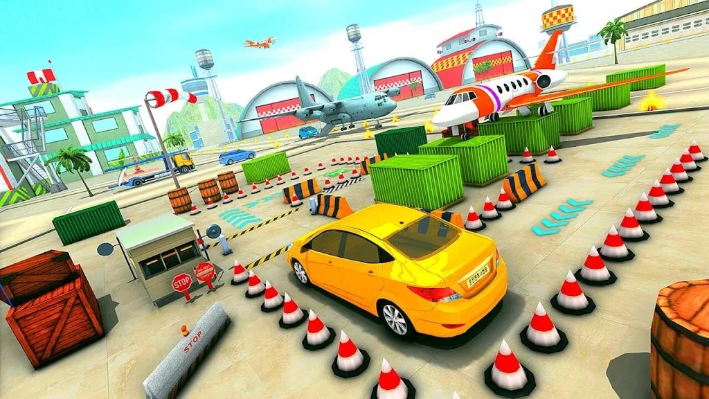 机场停车场3D
